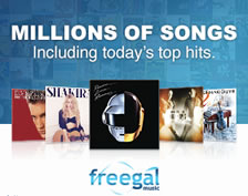 Freegal. Millions of Songs, including today's top hits. Listen here.